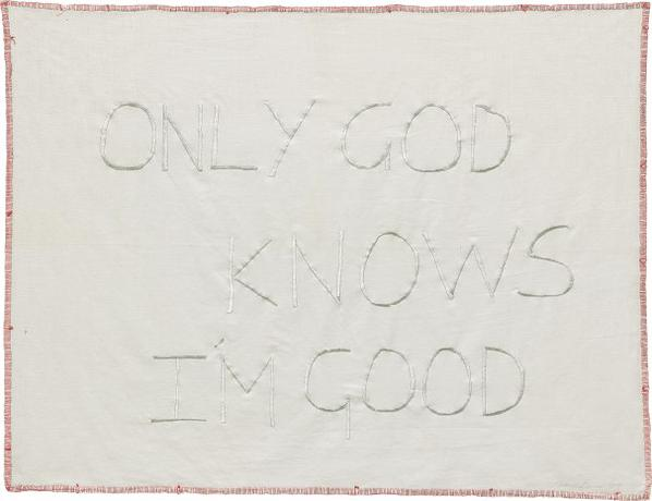 Tracey Emin-Only God Knows Im Good-2009
