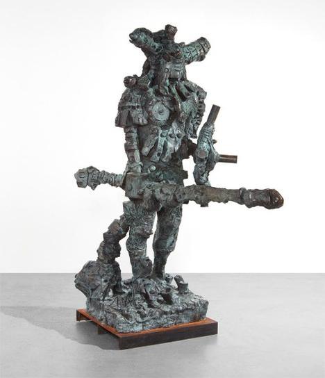 Jonathan Meese-Der Kampfer De Large (Der Zeushagen Von Troja De Neutral)-2008