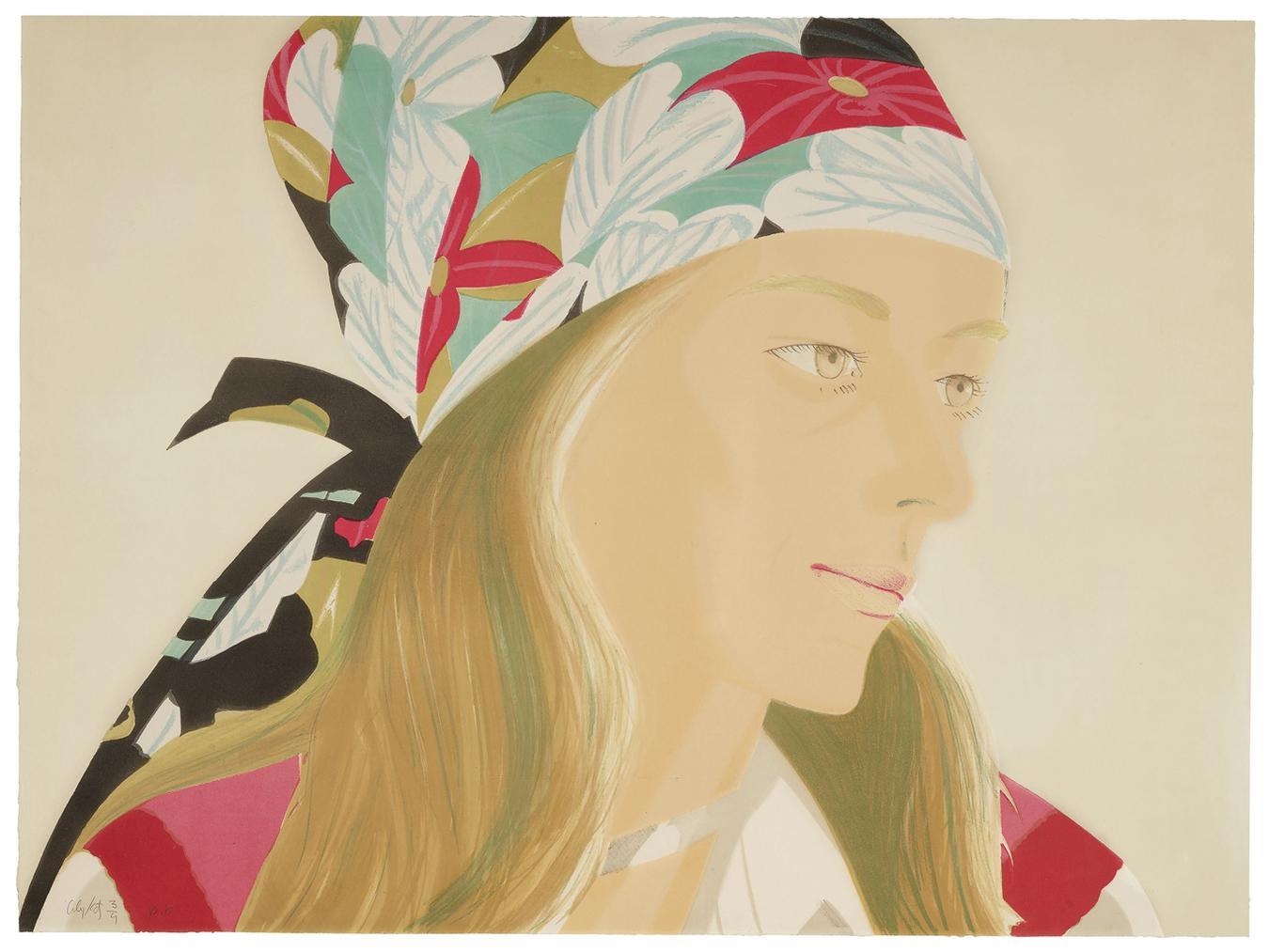 Alex Katz-Anne-1973