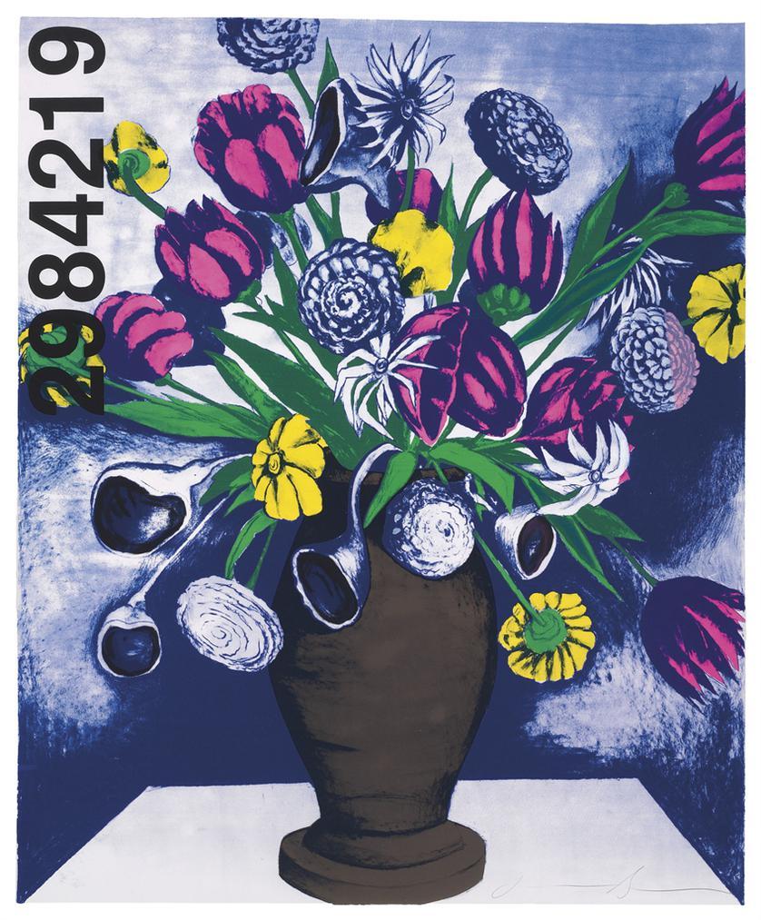 Jonathan Borofsky-Flowers At No. 2984219-1986