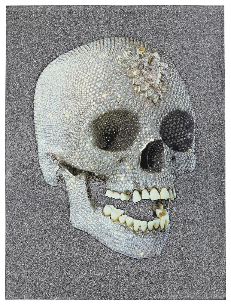 Damien Hirst-For The Love Of God, Laugh-2007