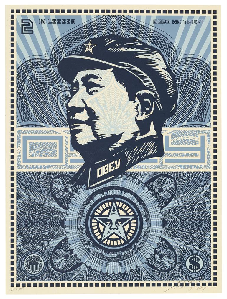 Shepard Fairey-Mao Money-2003