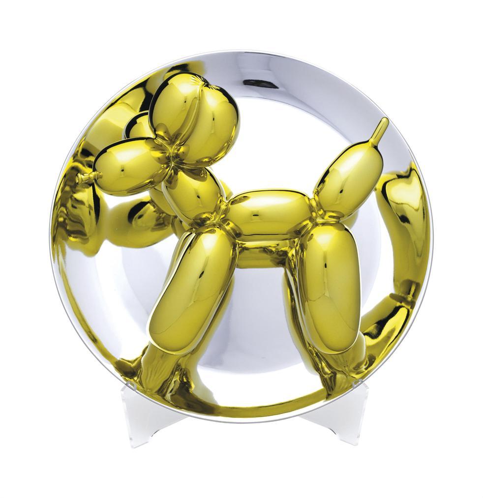 Jeff Koons-Balloon Dog (Yellow)-2015