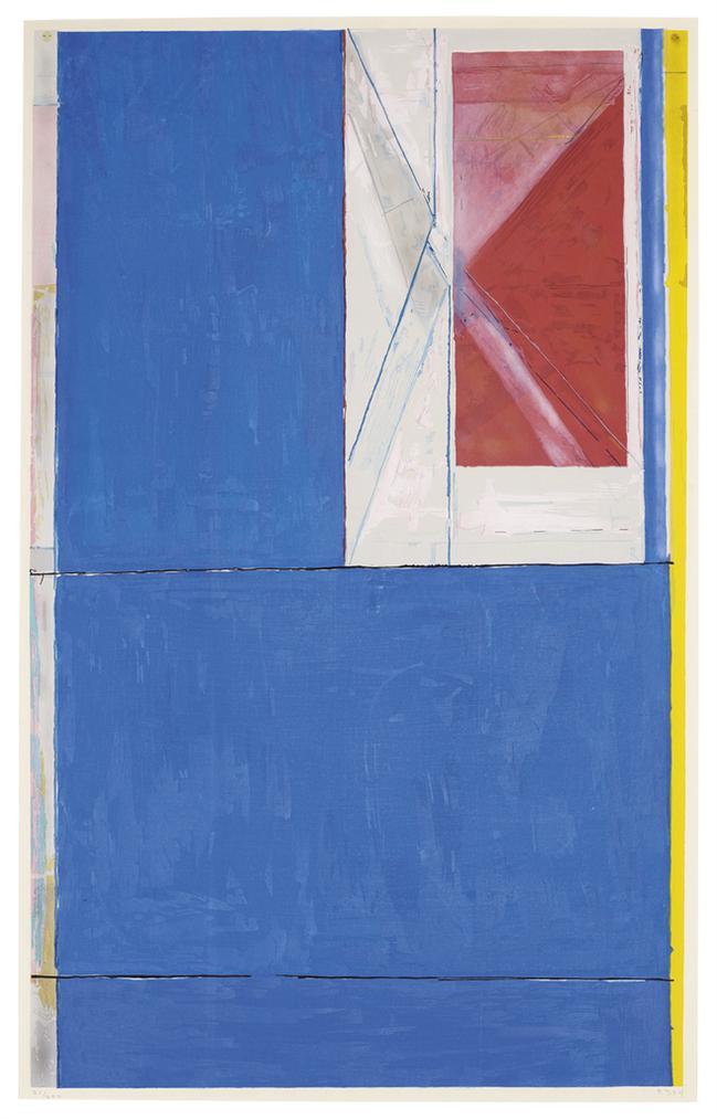 Richard Diebenkorn-Blue-1984