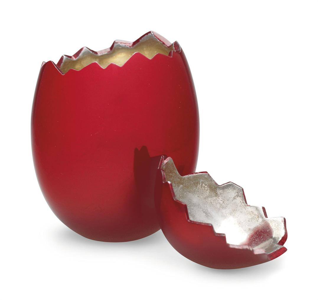 Jeff Koons-After Jeff Koons - Cracked Egg (Red)-2008