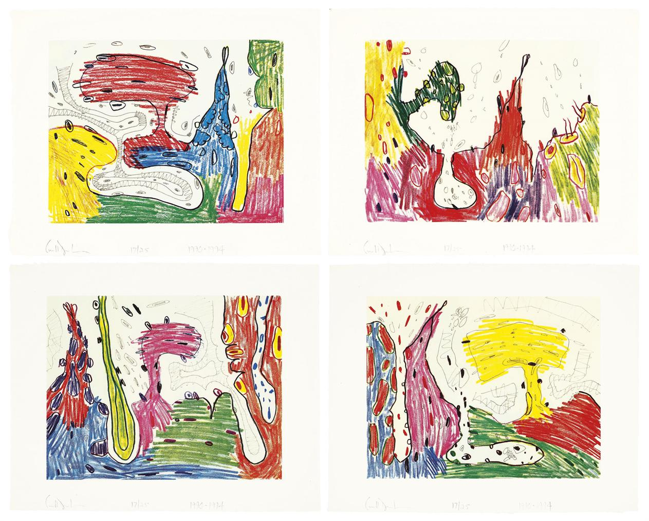 Carroll Dunham-Seven Places-1994