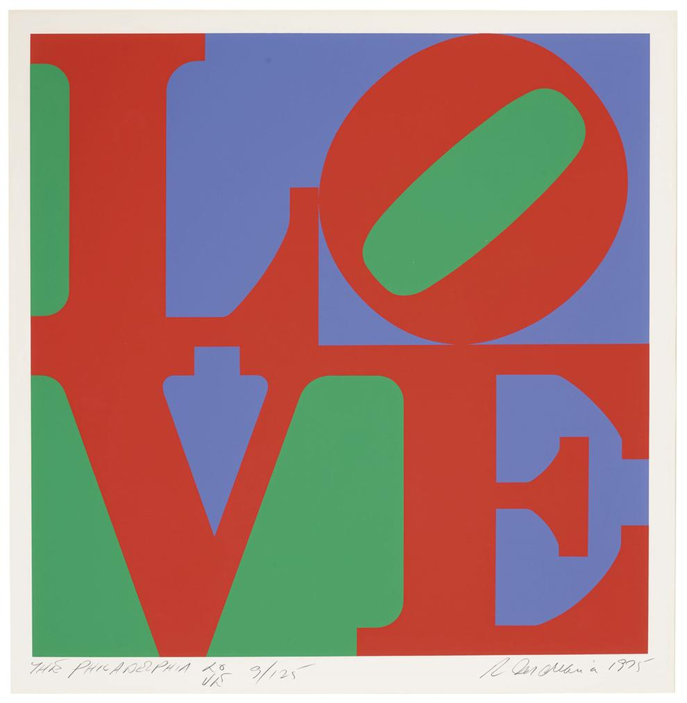 Robert Indiana-Philadelphia Love-1975