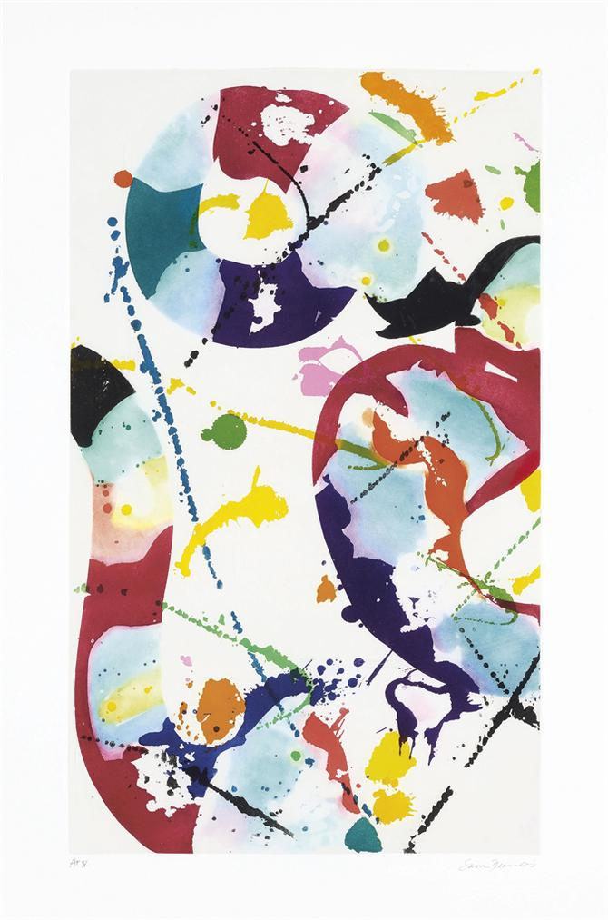 Sam Francis-Untitled (Sfe 085)-1992