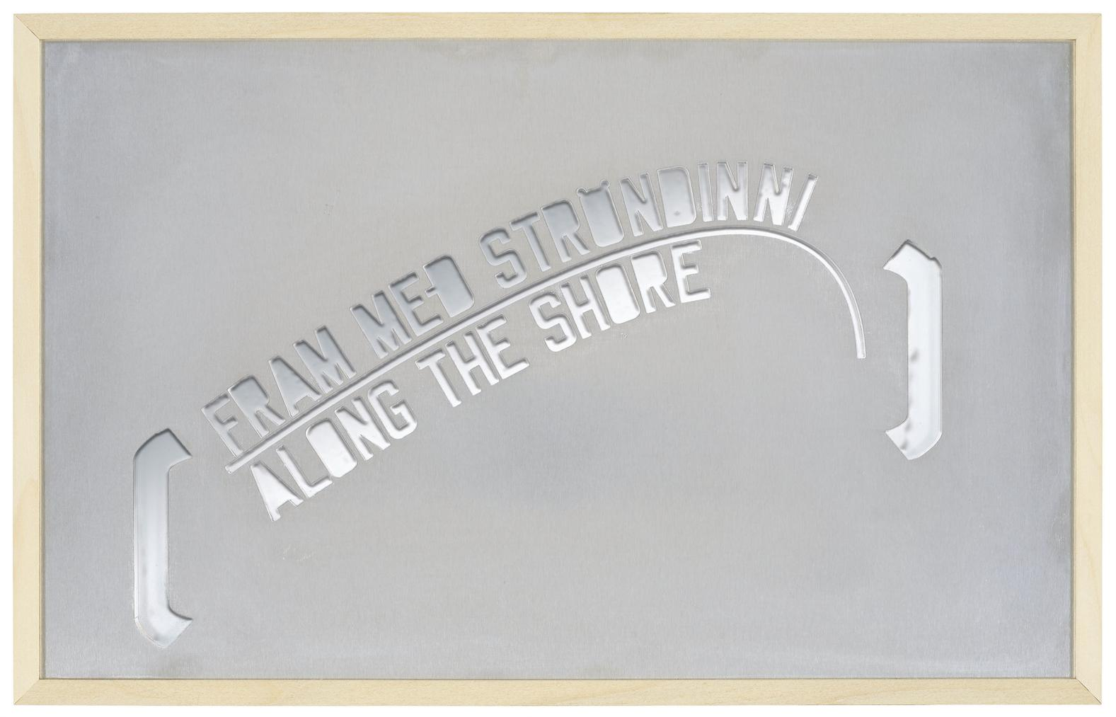 Lawrence Weiner-Iceland Homily-2010