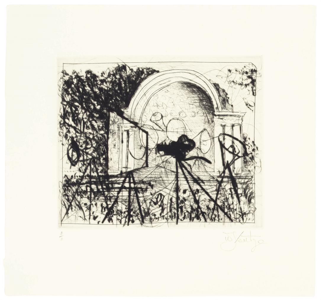 William Kentridge-Untitled (Central Park Bandshell)-2005