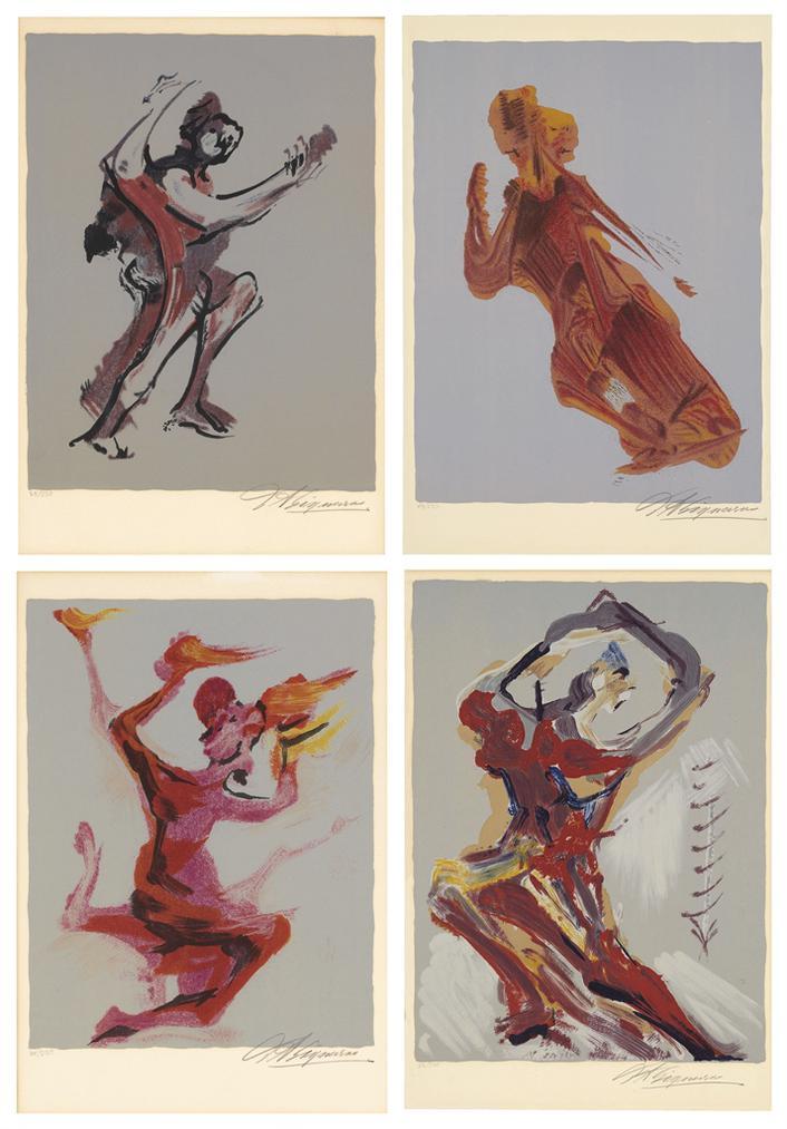 David Alfaro Siqueiros-Portfolio-1973