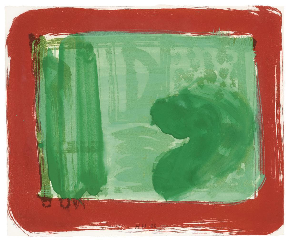 Howard Hodgkin-Green Room-1986