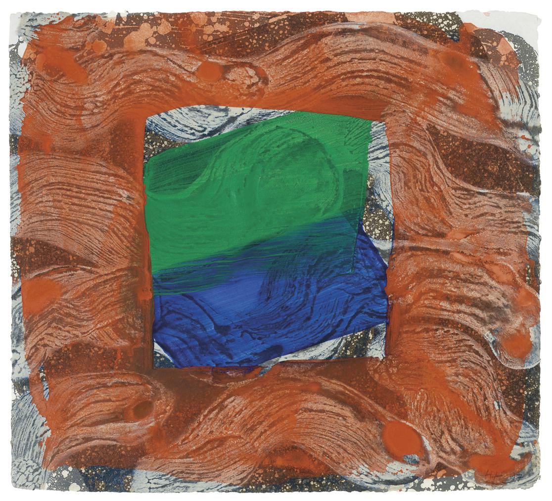 Howard Hodgkin-Books For The Paris Review-1997