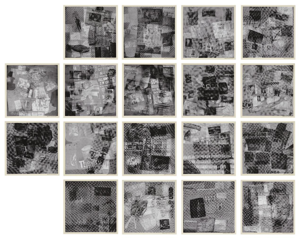 Robert Rauschenberg-Surface Series, From Currents-