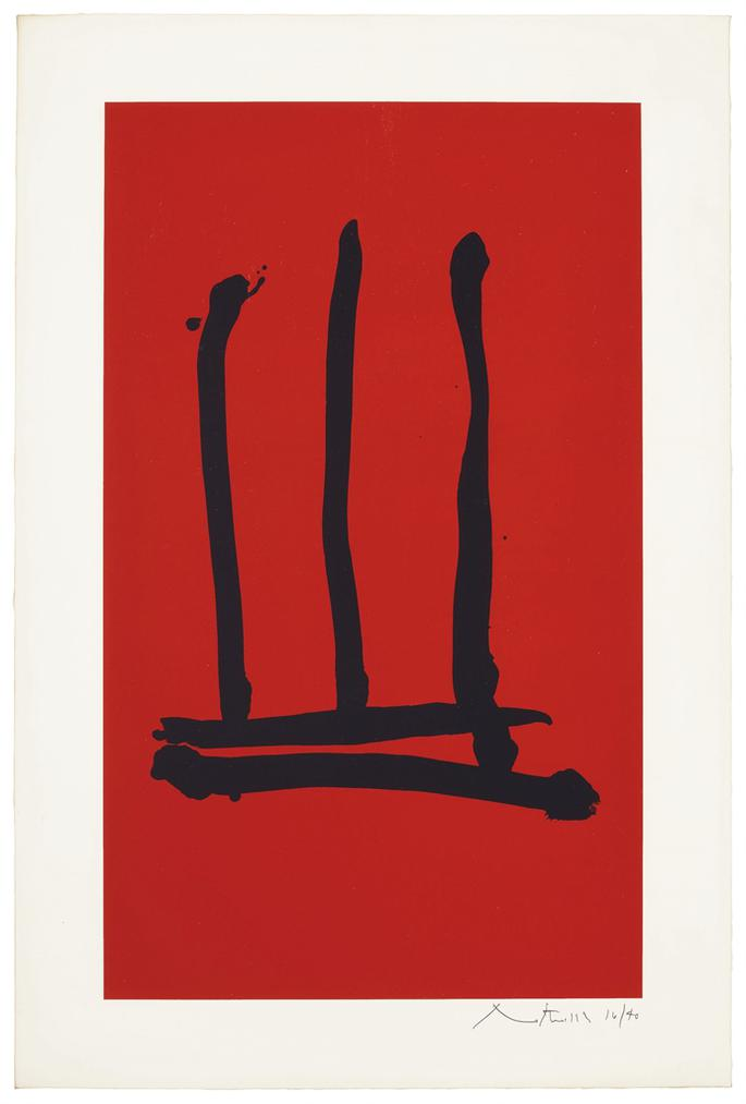 Robert Motherwell-Palo Alto-1978