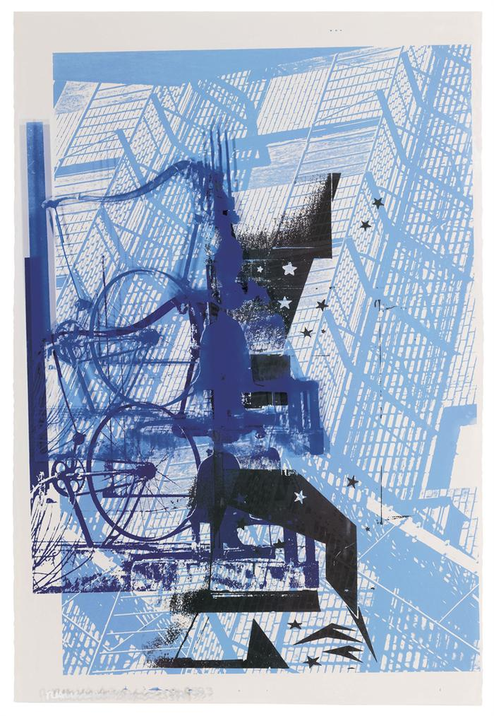 Robert Rauschenberg-Prime Pump, From Roci Usa (Wax Fire Works)-1993