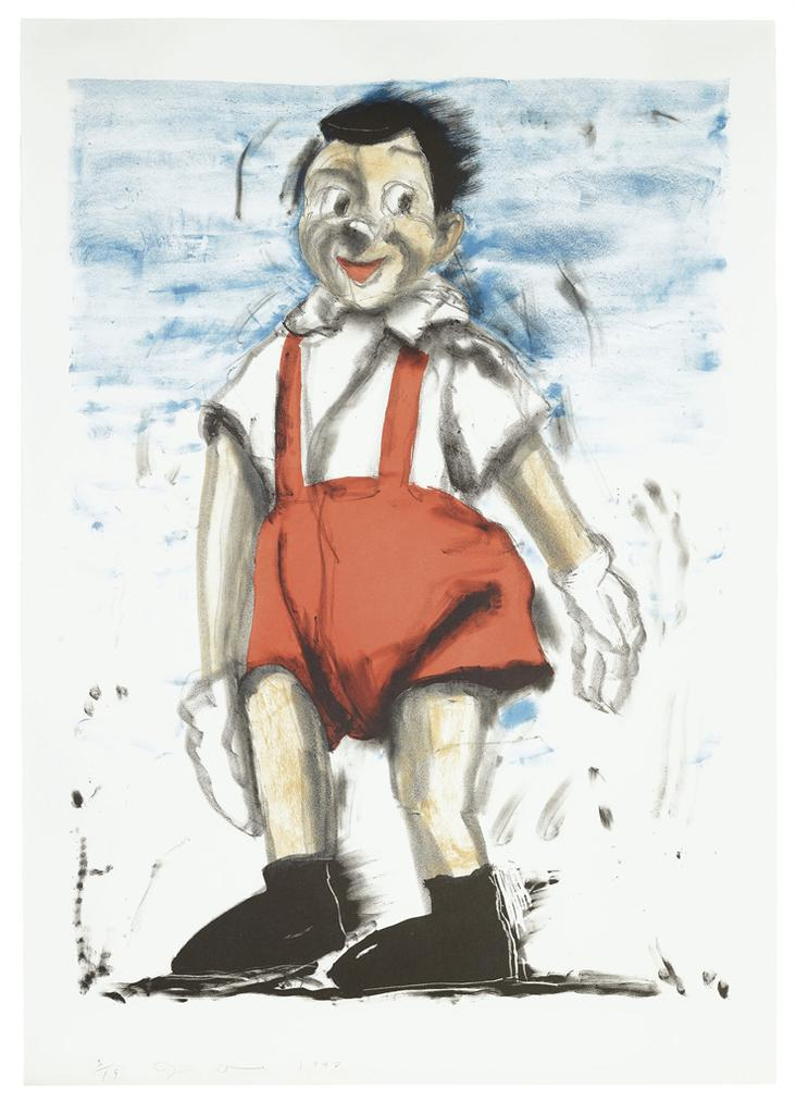 Jim Dine-Red Pants I-1998