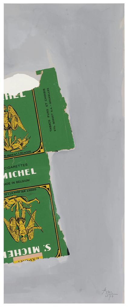 Robert Motherwell-St. Michael I (State II)-1979