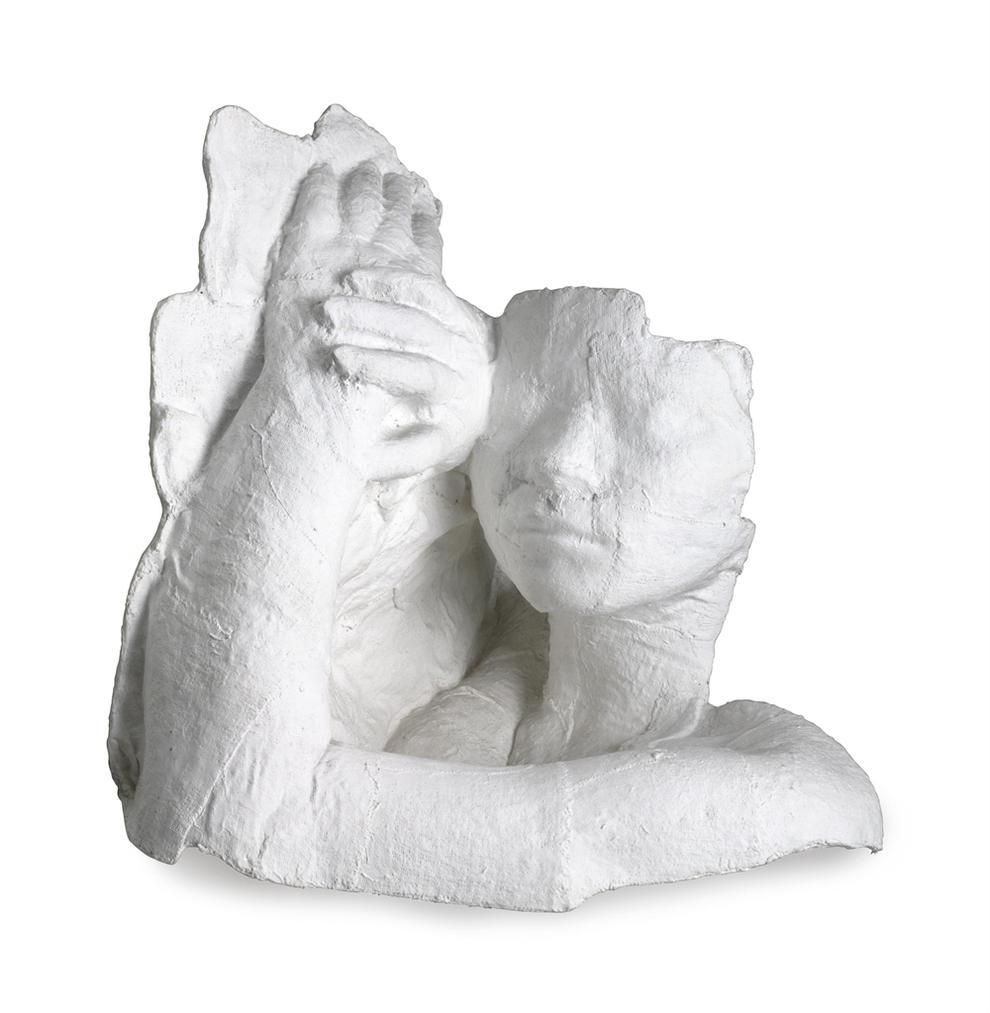 George Segal-Fragment: Girl Resting-1970