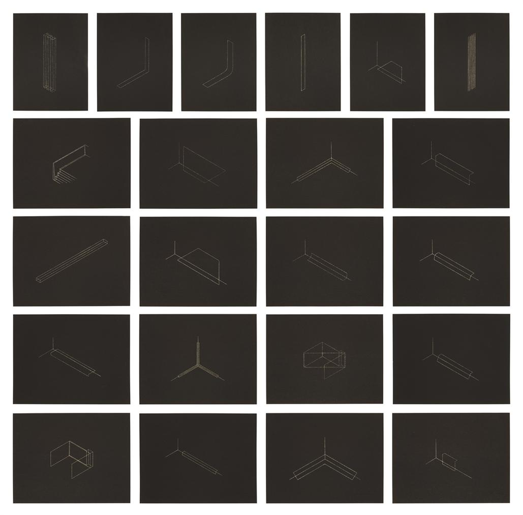 Fred Sandback-Twenty-Two Constructions-1986