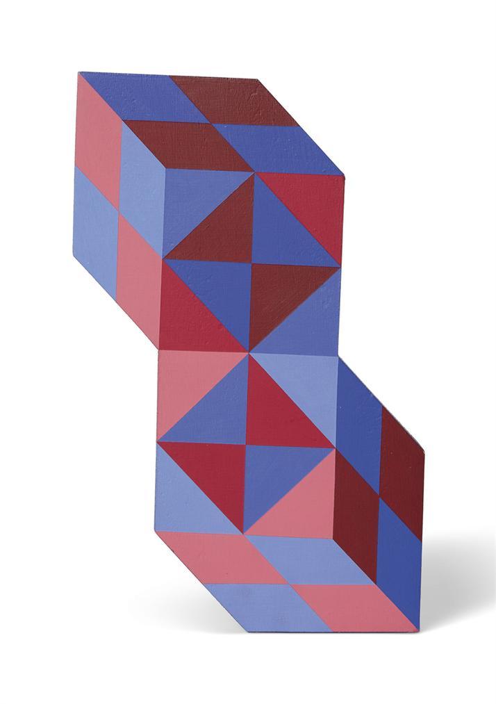 Victor Vasarely-Stele-1988