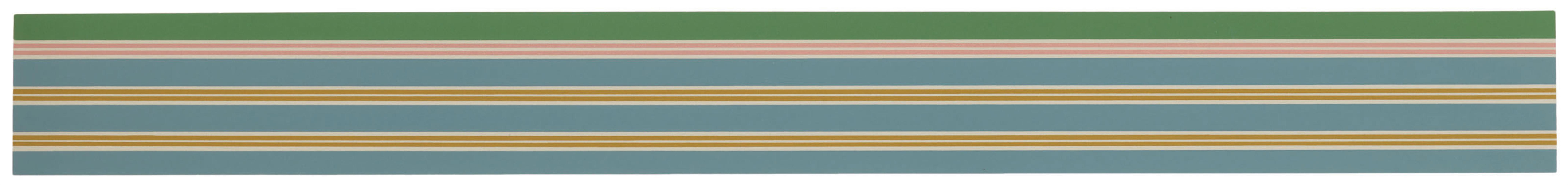 Kenneth Noland-Twin Planes-1969