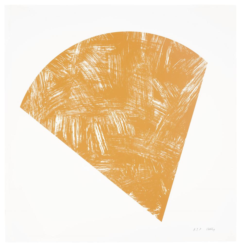 Ellsworth Kelly-Untitled (Orange State I), From Purple Red Gray Orange-1988