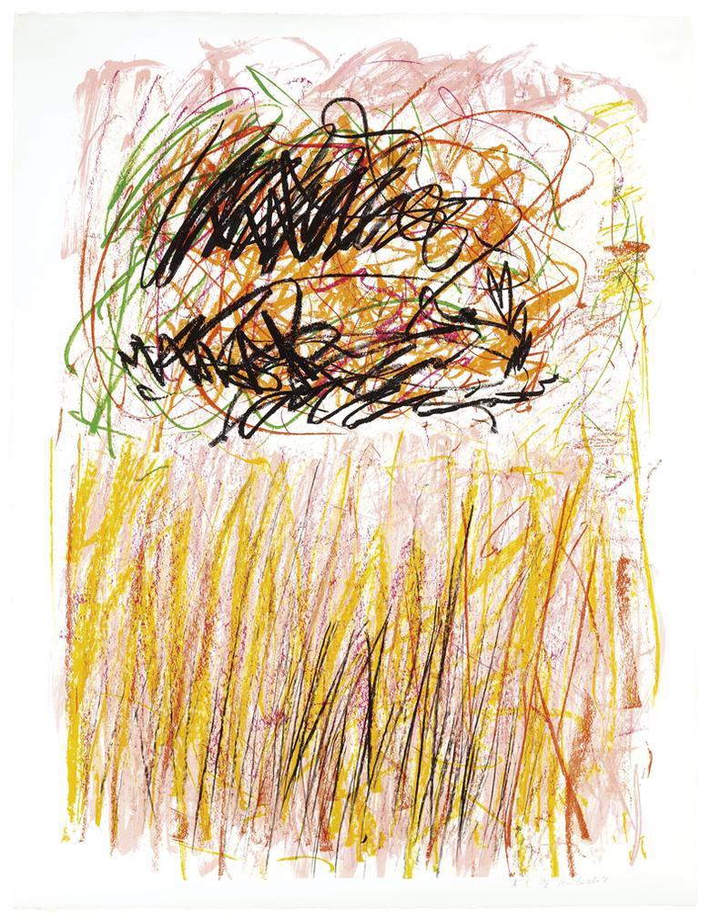 Joan Mitchell-Flower I-1981
