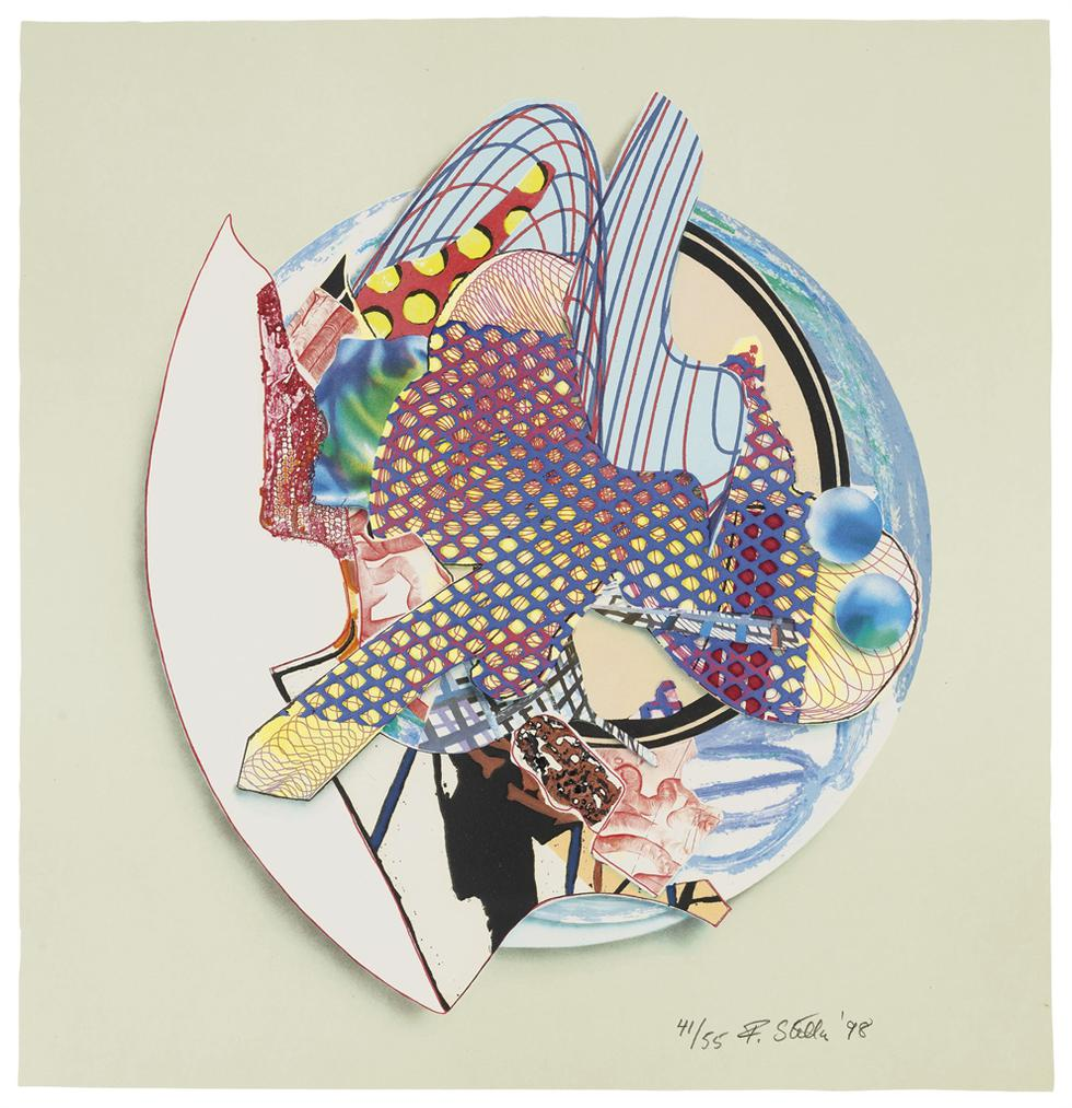 Frank Stella-Iffish, From Imaginary Places Iii-1998