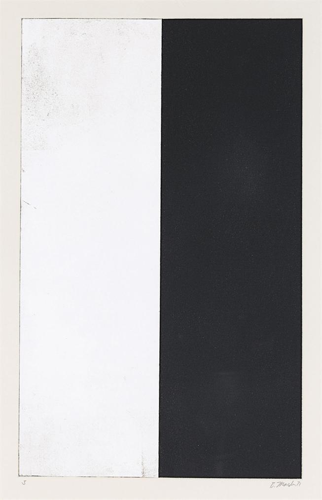 Brice Marden-Ten Days: One Plate-1972