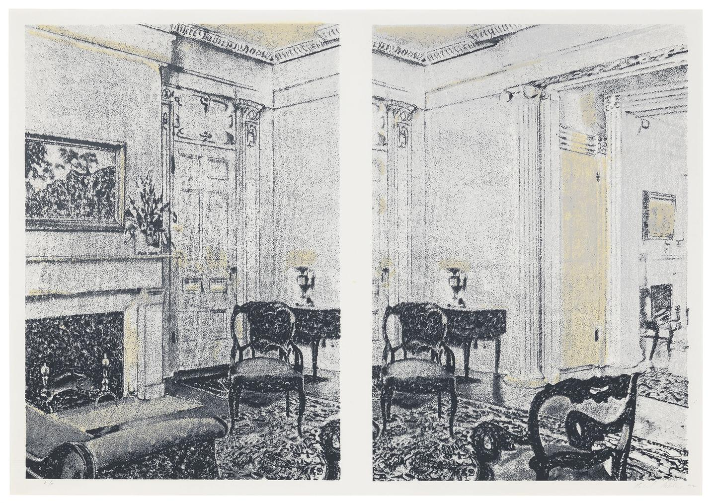Richard Artschwager-Interior-1972