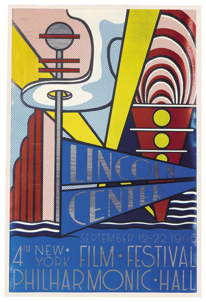 Roy Lichtenstein-Lincoln Center Poster-1966