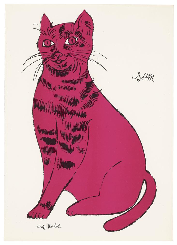 Andy Warhol-Sam-1954