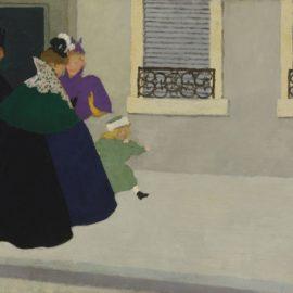 Felix Vallotton-En Promenade-1895