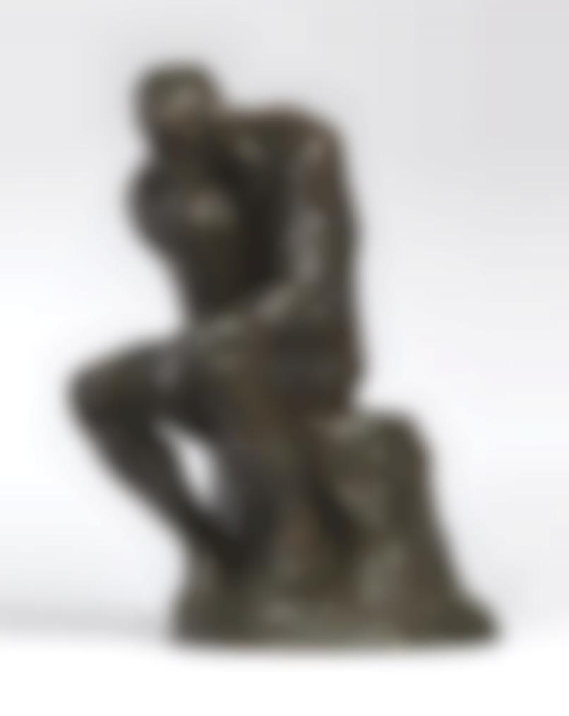 Auguste Rodin-Le Penseur, Petit Modele-1882