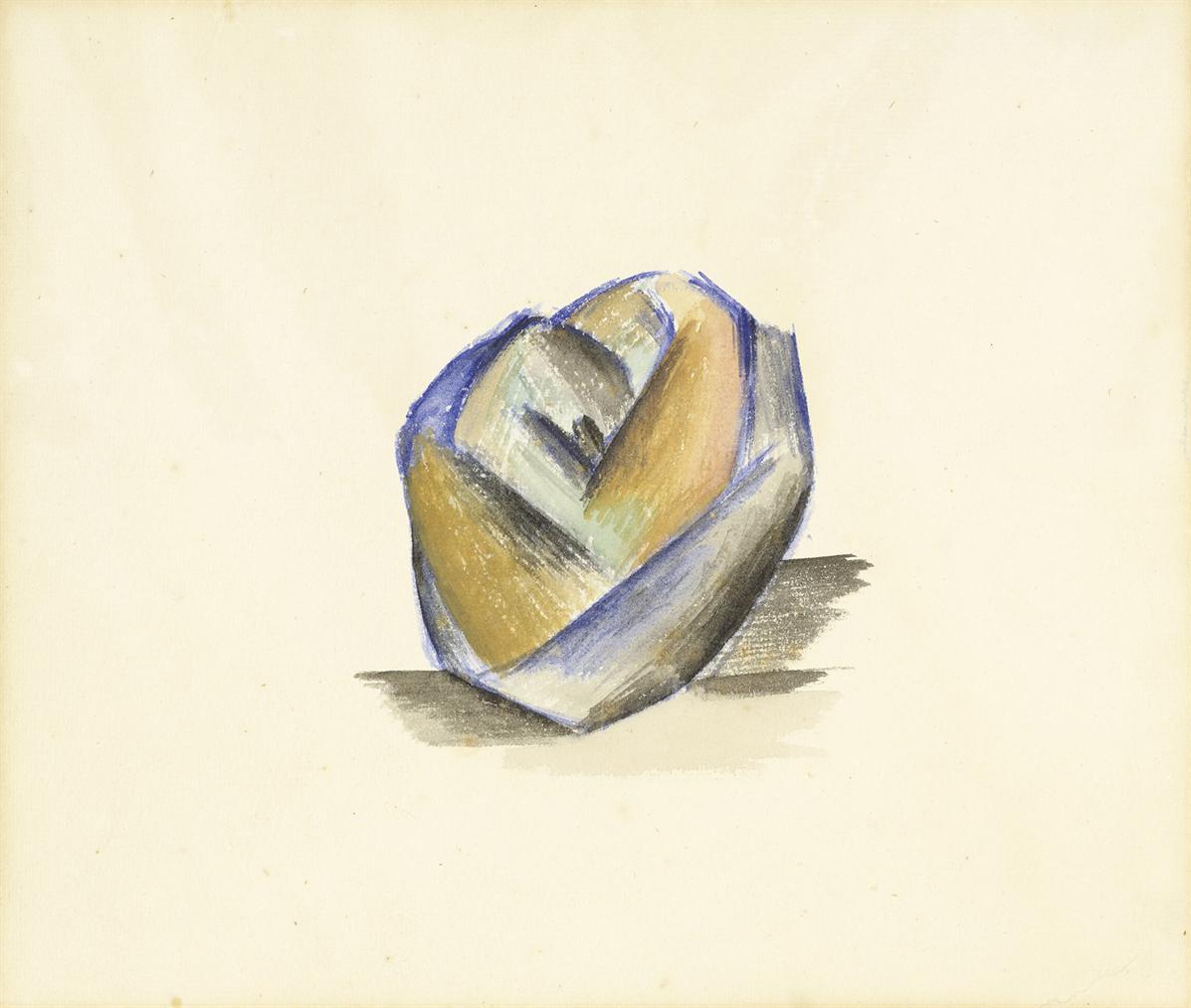 Pablo Picasso-Pomme-1909