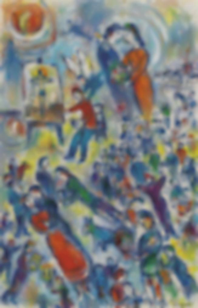 Marc Chagall-Le Reve Du Peintre-1980
