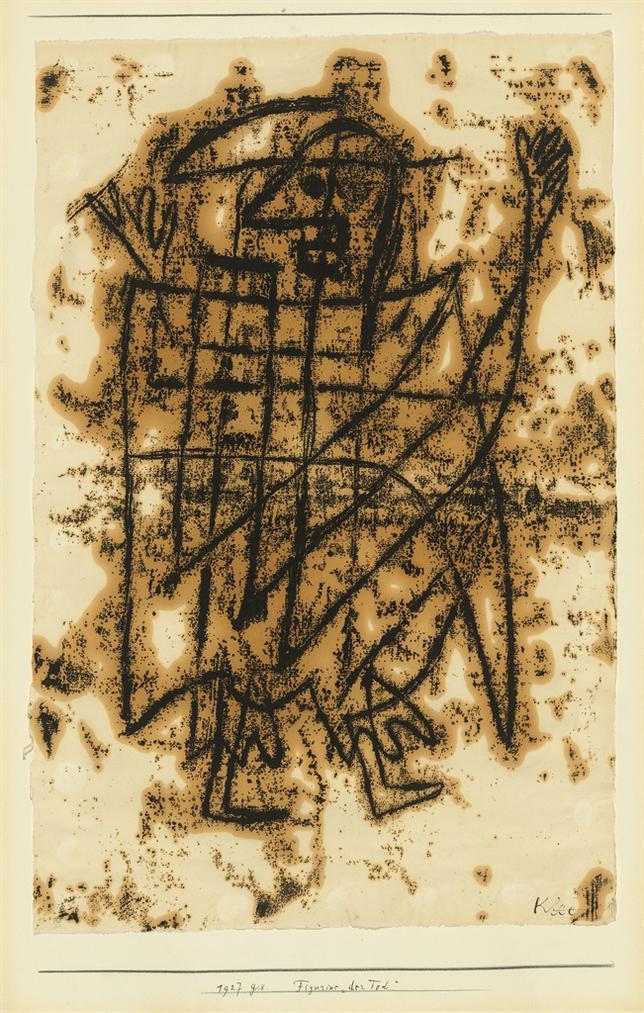 Paul Klee-Figurine Der Tod (Figurine Death)-1927