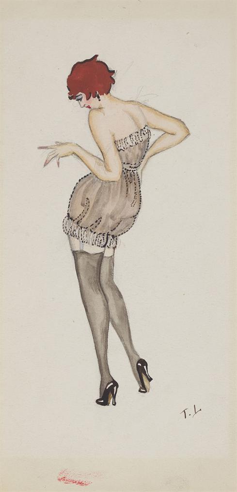 Tamara de Lempicka-Illustration De Mode-1920