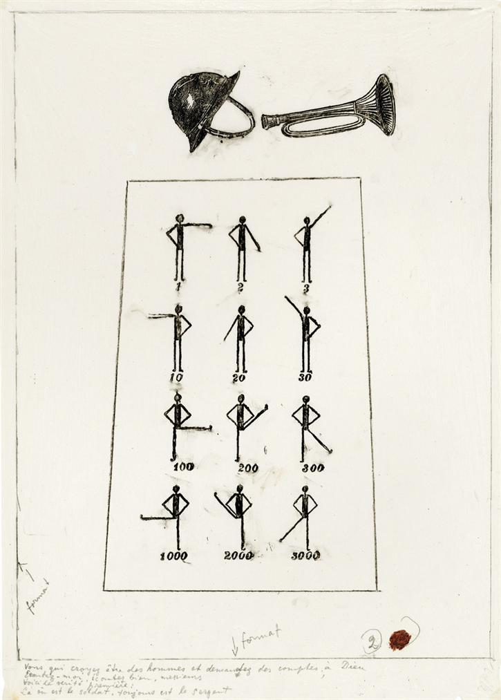 Max Ernst-Vous Qui Croyez Etre Des Hommes - La Ballade Du Soldat-1972
