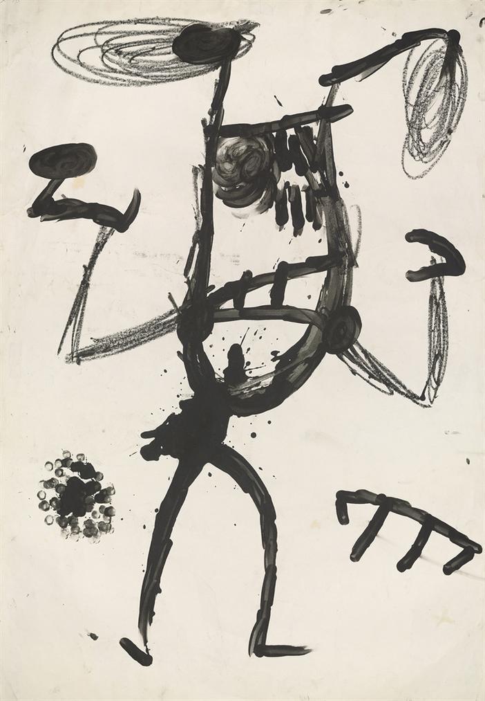 Joan Miro-Majorette-1978