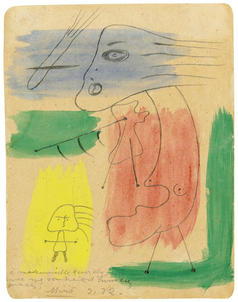Joan Miro-Sans Titre-1932