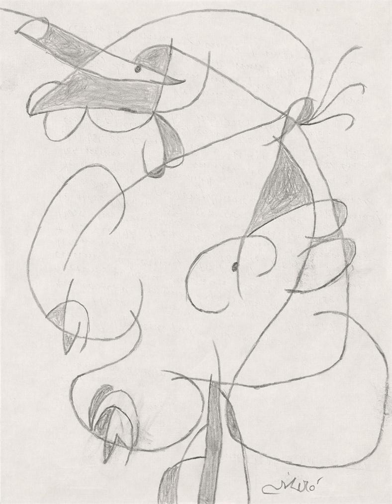 Joan Miro-Femme-1981