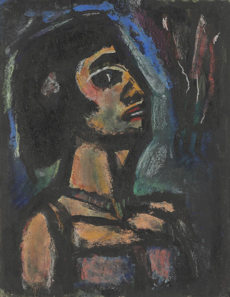 Georges Rouault-Eve Dechue-1930