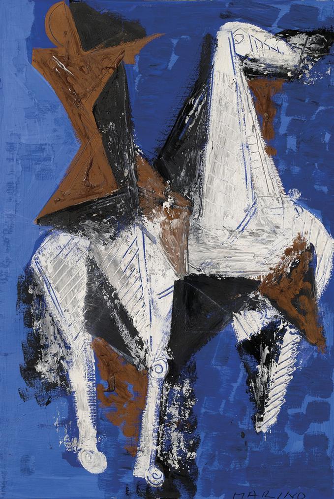 Marino Marini-Cavallo E Cavaliere-1956