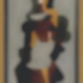 Jacques Lipchitz-Femme Cubiste-1918