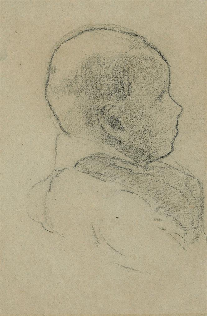 Paul Gauguin-Portrait De Clovis-1879