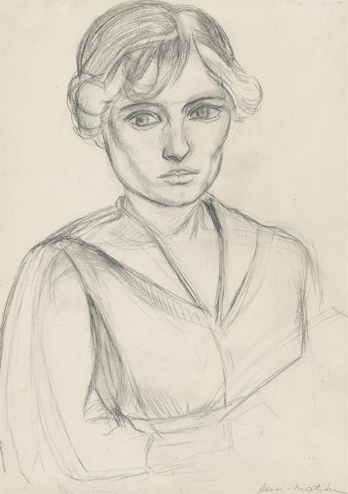 Henri Matisse-Buste De Femme-1919