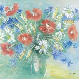 Jean Dufy-Bouquet Champetre-1960