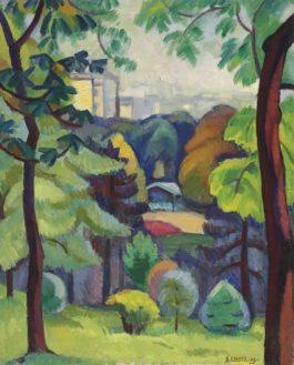 Andre Lhote-Le Parc Montsouris-1909